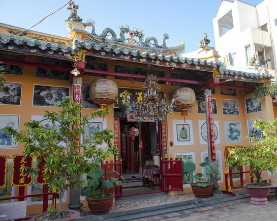 Chùa ông Cần Thơ phường Tân An, quận Ninh Kiều, thành phố Cần Thơ. Ảnh: canthotourist.vn