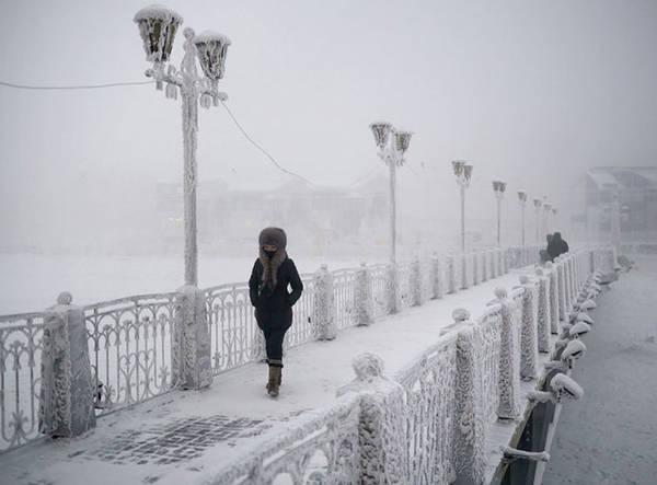 Oymyakon giữa bốn bề tuyết trắng