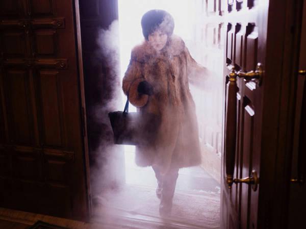 Trời lạnh đến mức khiến môi như bị kim đâm còn nước bọt cũng bị đóng băng