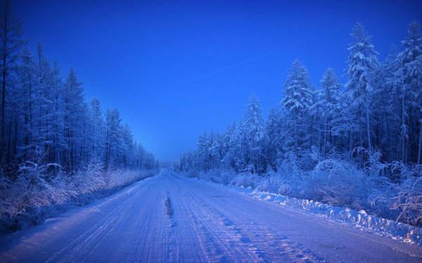 Đây là con đường duy nhất dẫn tới Oymyakon