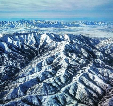 5. Còn đây là dãy Utah nằm ở Mỹ - một trong những địa điểm mà tất cả những nhà thám hiểm, những phượt thủ hàng đầu thế giới đều muốn một lần được đặt chân đến khám phá.
