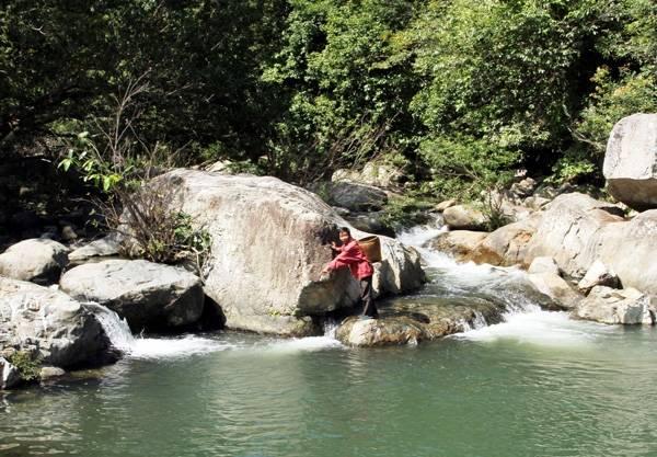 Suối Sông Trâu. Ảnh: Thành Phan Rang