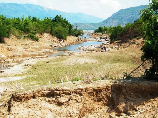Một đoạn suối trên đường đến hồ Sông Trâu. Ảnh: Dan Baldini