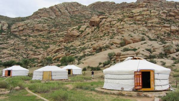 Khu lều trại ở đây. (Ảnh: Internet)