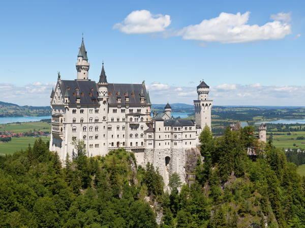 Lâu đài Neuschwanstein - Ảnh: Thomas Wolf