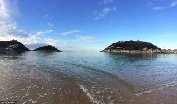 6. Bãi biển La Concha, San Sebastian - Donostia, Tây Ban Nha - Ảnh: TripAdvisor