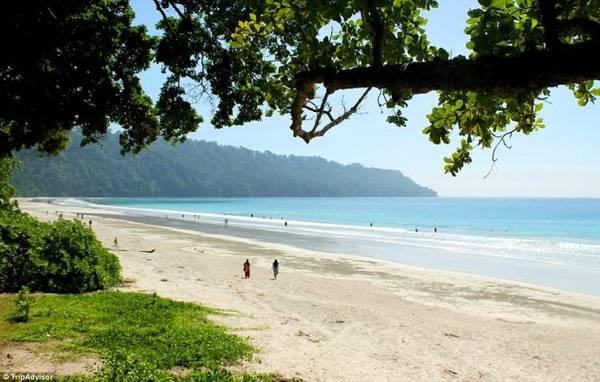 8. Bãi biển Radhanagar, đảo Havelock, Ấn Độ - Ảnh: TripAdvisor