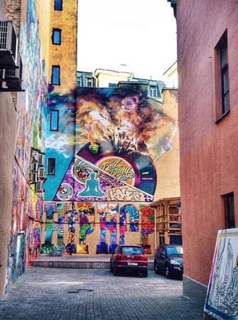 Saint Petersburg còn là một cuộc sống hiện đại, trẻ trung và nhiều màu sắc.