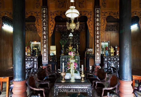 Làng nhà cổ Đông Hòa Hiệp tại huyện Cái Bè, Tiền Giang, điểm đến thu hút cho du khách thích hoài cổ. Ảnh: @solimoes