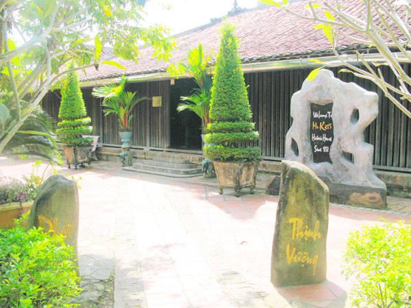 Nhà cổ của ông Trần Tuần Kiệt đượcxây dựng vào năm 1838 với diện tích gần 1.000m². Ảnh: priceline