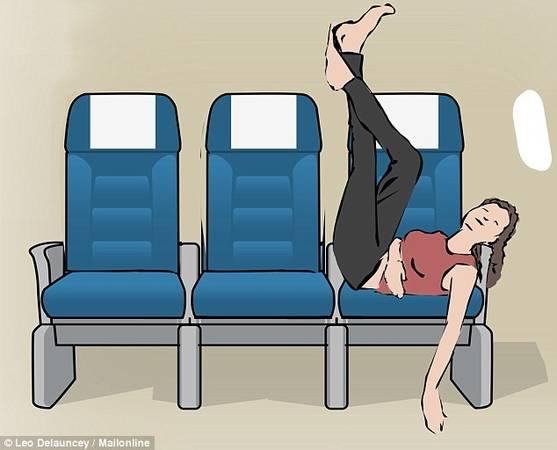 Gác chân lên lưng ghế: Đây là tư thế chỉ nên áp dụng nếu xung quanh bạn là người thân quen. Tư thế này cũng áp dụng tốt nhất khi bạn đang ngồi gần cửa sổ.