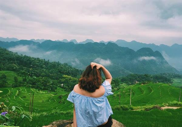 Puluong Retreat  Resort nằm ở Bản Đôn, xã Thành Lâm, huyện Bá Thước, Thanh Hóa. Điểm đến thu hút du khách bởi lối kiến trúc hòa hợp với thiên nhiên, hình ảnh mây vờn mờ ảo. Ảnh: sushievu