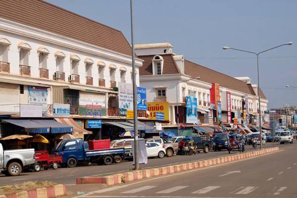 Khu trung tâm thương mại Thành phố Pakse, tỉnh Champasak