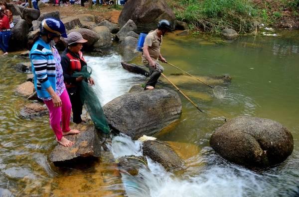 Tuy nhiên vẫn còn có người chưa ý thức tốt về việc bảo vệ môi trường, một số đến hồ Hóc Răm để châm điện bắt cá rất nguy hiểm.