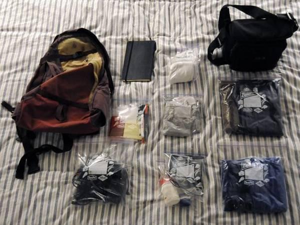 Túi Ziploc có nhiều công năng nếu bạn biết sử dụng một cách sáng tạo. Ảnh: Jesus Gorriti/ Flickr.