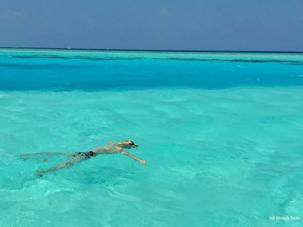 Maldives là thiên đường du lịch.
