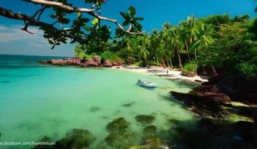 Hòn Móng Tay nằm trên quần đảo Phú Quốc. Ảnh: Huỳnh Lê Tuấn.