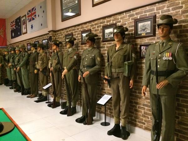 Quân phục của quân đội Úc.