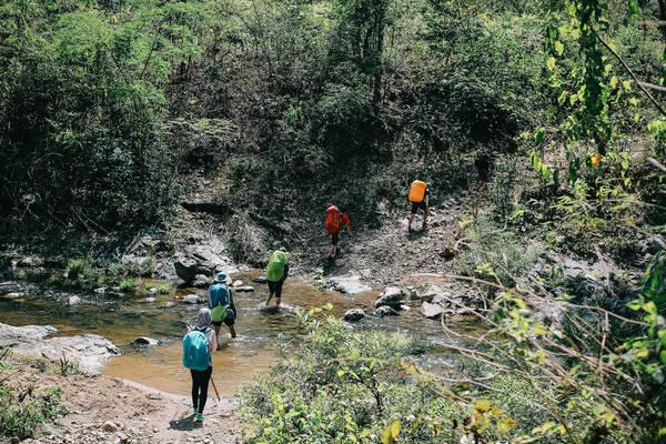 Việc leo núi rất tốt cho sức khỏe.