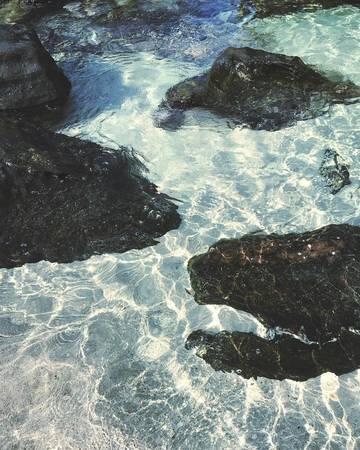 Biển trong vắt ở Nam Nghi Resort Phú Quốc