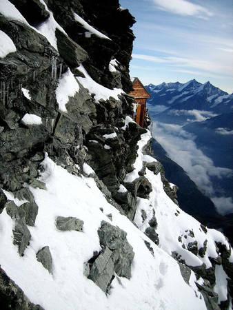 Solvay xây ngôi nhà nhằm thể hiện sự tri ân của mình đối với ngọn núi, vì trong năm tháng tuổi trẻ ông đã có những khoảnh khắc đáng nhớ khi leo núi và ngắm nhìn quang cảnh ở đây.