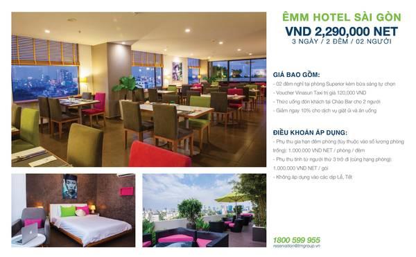 summer-escape-ivivu-Khách sạn Êmm Sài Gòn