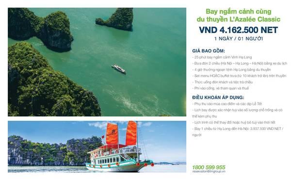 summer-escape-ivivu-Thủy phi cơ ngắm cảnh + L'Azalee Cruise 1 ngày