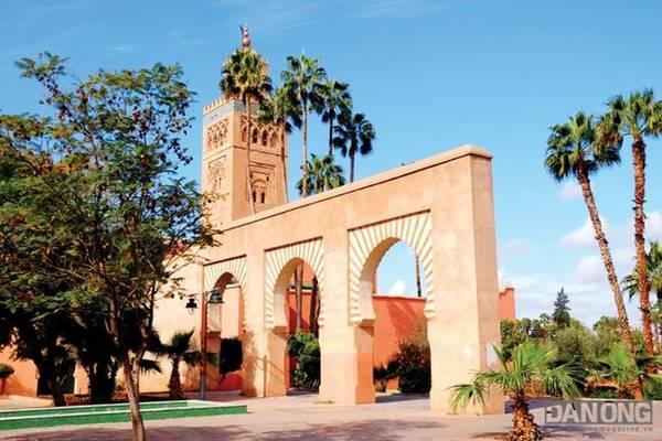 Một góc nhỏ tại Marrakesh.