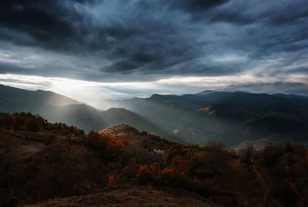 Vẻ đẹp tuyệt vời của rặng núi.