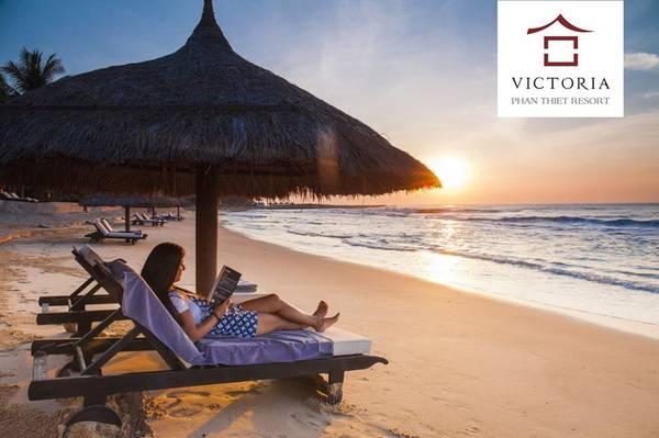 Với bãi biển mới, Victoria Phan Thiết như khoác lên một chiếc áo mới, mang đến cho du khách lưu trú một không gian thư giãn trên cả tuyệt vời. Ảnh: victoriahotels