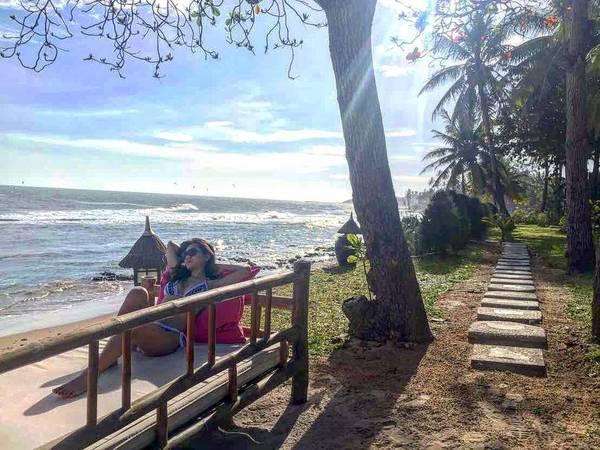 Nếu bạn muốn có một kì nghỉ vừa thoải mái, vừa tận hưởng được không gian tiện nghi, sang trọng nhưng vẫn ấm cúng thì Victoria Phan Thiết Beach Resort & Spa sẽ là điểm lưu trú lý tưởng dành cho kỳ nghỉ sắp tới của bạn. Ảnh: yuuyuu520
