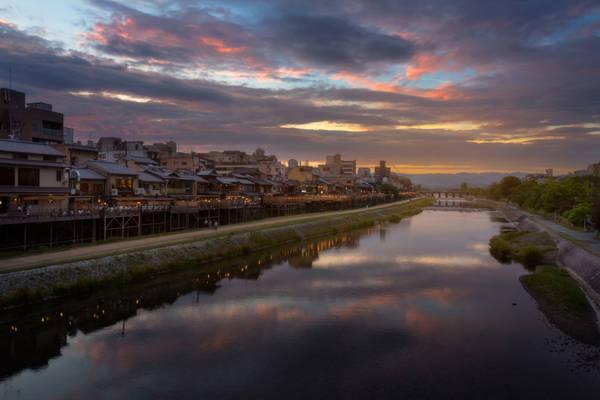 Tản bộ dọc bờ sông Kamogawa: Bờ sông Kamogawa thanh bình ở Kyoto là nơi du khách và dân địa phương thường lui tới, cũng là chỗ trú ẩn của động vật. Dòng sông trải dọc phía đông thành phố, phía bắc khá đông người. Nhưng chỉ cần đi một chút xuống phía nam, du khách sẽ khám phá ra một vùng yên bình hơn, nơi hoa và cỏ dại bao phủ lối đi rộng, có nhiều loài động vật hoang dã.