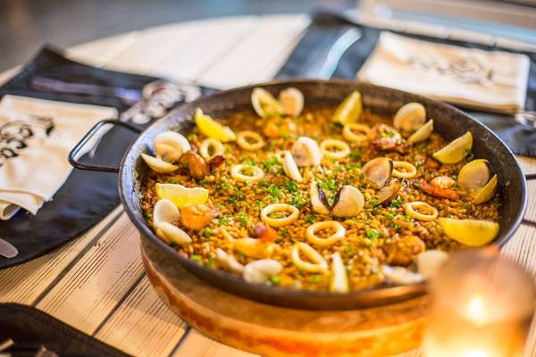 Món Paella Catalana ở Itaca. Ảnh: Itaca