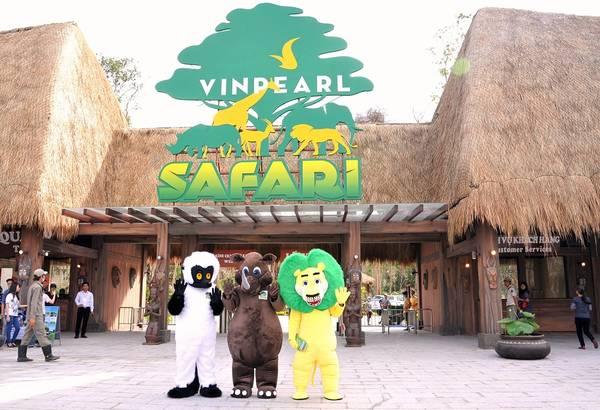 Ảnh: Vinpearl Safari