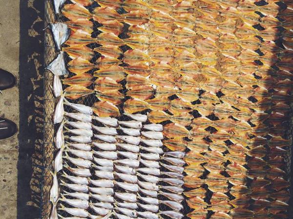 Cá khô là đặc sản, bạn nên mua về làm quà.