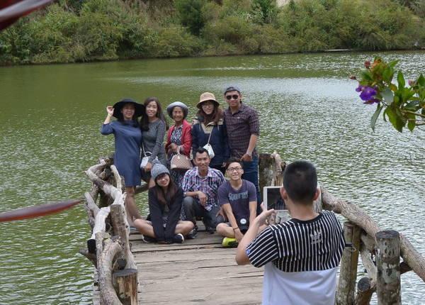 Du lịch làng Cù Lần, Đà Lạt - Ảnh: T.T.D.