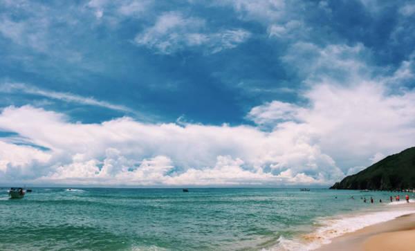 Cảnh đẹp ở biển Kỳ Co. Ảnh: Thái Trương.