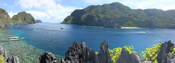 Toàn cảnh nhìn từ Mantiloc Island.