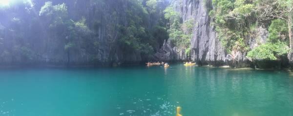 Bên trong Small Lagoon.