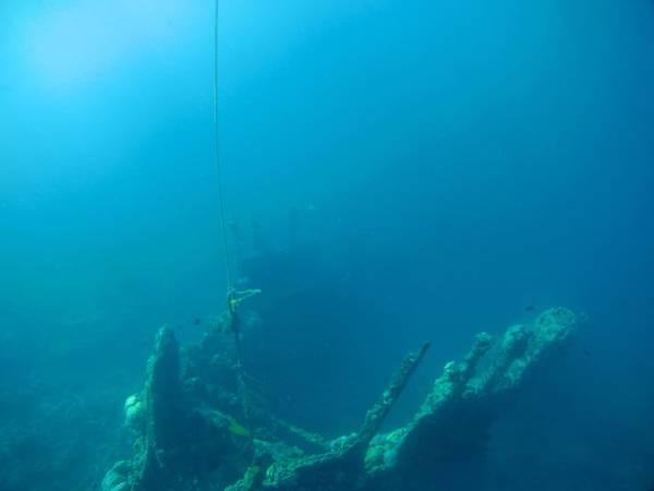 Skeleton wreck, tàu đắm của Nhật từ chiến tranh thế giới thứ 2.