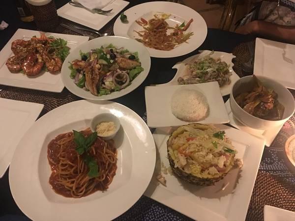 Đồ ăn tại La Sirenella khá ngon và hấp dẫn.