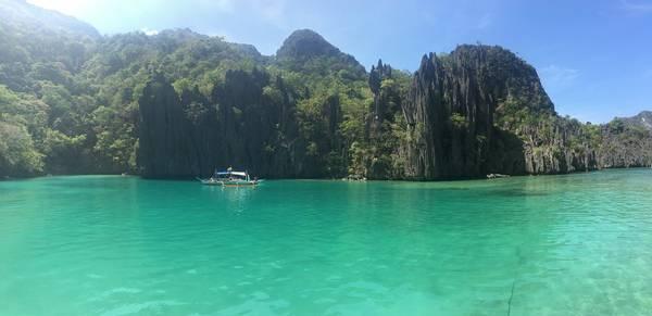 Cadlao Lagoon.