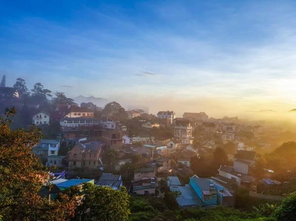 Ban mai phố núi (Đà Lạt) - Ảnh: Nguyễn Phúc Lộc