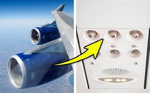 Lỗ móc trên hai cánh Ở hầu hết máy bay, để sử dụng lối trượt thoát hiểm khẩn cấp, hành khách phải bước trên chiếc cánh trơn trượt. Việc này có thể trở nên dễ dàng hơn nhờ một lỗ móc đặc biệt được thiết kế trên cánh. Dây an toàn được luồn qua lỗ móc này, một đầu nối với cửa máy bay trong khi đầu còn lại móc vào cánh ở cuối lối trượt. Khi nắm chặt sợi dây, hành khách có thể sơ tán an toàn. Ảnh: anizza/depositphotos.com.