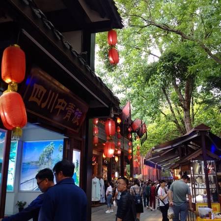 Trong phố cổ Cẩm Lý có rất nhiều cửa hàng lưu niệm của người ngoại quốc như Thái Lan, Ấn Độ,… bày bán những món đồ chế tác cầu kỳ, tinh xảo.