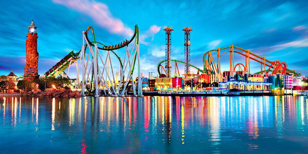 Công viên giải trí Universal Studio ở Mỹ