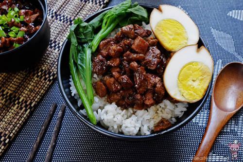 Nhiều du khách cho biết, họ đã nuốt nước miếng khi lần đầu nhìn thấy hình bát cơm ăn cùng thịt lợn kho trong các cửa hàng ở Đài Loan