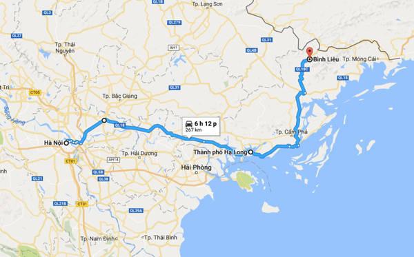Thời điểm thích hợp khám phá Bình Liêu là mùa xuân, mùa hoa trẩu (tháng 3), mùa lúa chín (tháng 9), mùa hoa sở nở trắng tinh khôi (tháng 12). Tuyến đường từ Hà Nội đi Bình Liêu qua QL 18 và 18C khoảng 260 km.