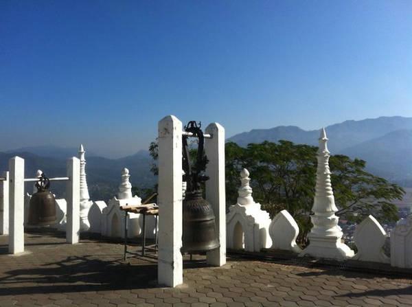 Chùa Wat Phra That Doi Kong Mu - Ảnh: Trùng Dương