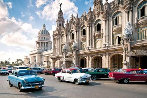La Habana - nơi tập trung đủ loại xe Mỹ kiểu cổ